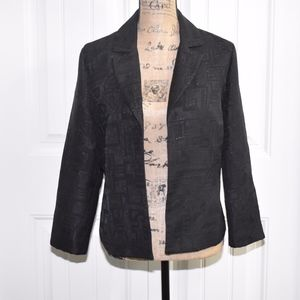 Chico's Black Jacket Size 8